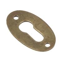 Oklucznica L-35mm, cc:27mm/stare złoto