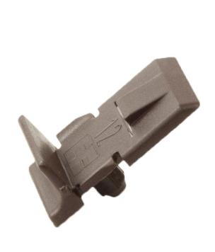 Wspornik Półki Drewnianej 12mm Brąz